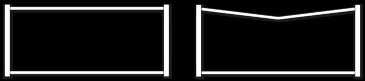 Les formes des portails alu design Texas