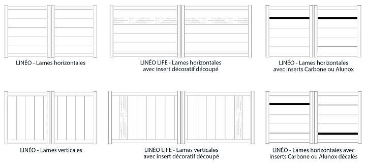 Modèles de portails Linéo